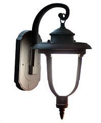Светильник садово-парковый черный матовый стекло АСКО-УкРЕМ 60-99 A0180080112