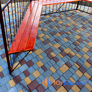 Технология создания вибропрессованной тротуарной плитки