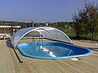 """Стационарный стекловолоконный усиленный бассейн """"Компакт"""" 4,0х2,8 глубиной 1,55м., фото 3"""