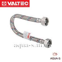 Шланг гибкий Valtec  для воды в оплетке из нержавеющей стали (Гайка-гайка) 300 мм. Valtec VTf