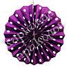 Веерный круг (картон) 30см (фиолетовый 0021)