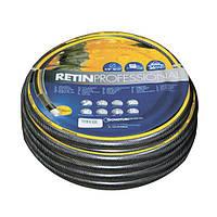 Шланг садовый Tecnotubi Retin Professional для полива диаметр 3/4 дюйма, длина 50 м (RT 3/4 50), фото 1
