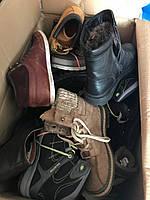 Обувь мужская кожанная крем секонд-хенд оптом