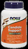 Комплекс для Кишечника, Candida Support, Now Foods, 90 гелевых капсул