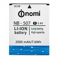 Оригинальная батарея на Nomi NB-507 (i507) для мобильного телефона, аккумулятор для смартфона.