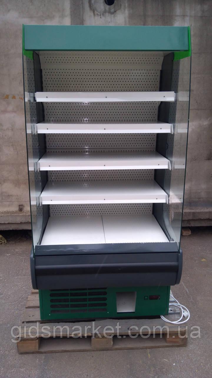Холодильный регал Росс Модена 1 м. бу., горка холодильная б/у, открытый прилавок б/у.