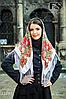 Павлопосадский шерстяной платок Страна чудес, фото 3