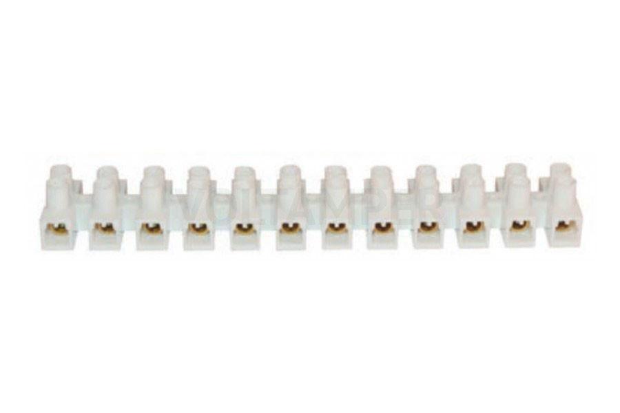 Клеммная колодка АСКО-УКРЕМ 35 мм / 100А белая тип H