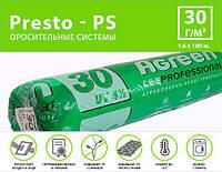 Агроволокно белое Agreen (спанбонд) плотность 30 г/м, ширина 1,6 м длинна 100 м (30 AG 16 100)