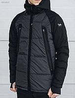 Зимняя мужская серая куртка Staff Z018