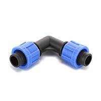 Угол Presto-PS зажимной для капельной ленты, в упаковке - 50 шт. (ЕТ-0117)