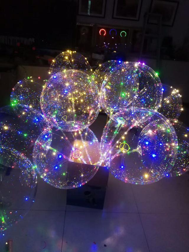 Светящиеся bobo шары