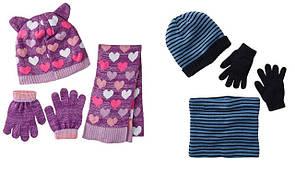 Шапочки, шарфики, перчатки