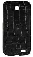 Чохол Vetti Craft Lenovo A516 Snap Cover crocodile black