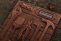 Шоколадные инструменты для мужчин в коробке-пенал, фото 1