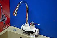Электрический кран-водонагреватель проточного типа с Устройством Защитного Отключения (УЗО) Zerix ELW-02 P