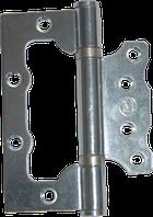 Петля без врезки металлическая 100х74 мм (бабочка)