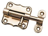 Шпингалет дверной 50мм ЗТ-2(цинковое покрытие)
