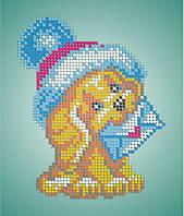 Схема для вишивки та вишивання бісером Бисерок «Собачка з конвертом» (A5)  15x18 f97532a049c14