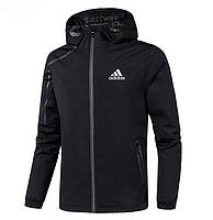 Ветровка Спортивная мужская весенняя курточка Adidas  CLIMA реплика