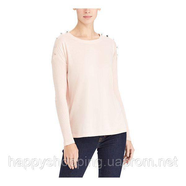 Женская пудровая розовая кофта Ralph Lauren