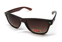 Очки солнцезащитные коричневые Рей Бен Ray Ban