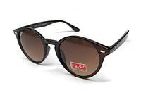 Очки солнцезащитные молодежные коричневые Ray Ban