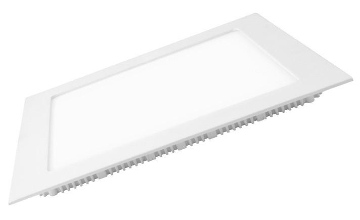 Светодиодная панель Eurolamp LED-PLS-12/3 12W 3000K (квадрат.бел.) Код.57890