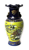 Подарочная ваза керамическая с росписью