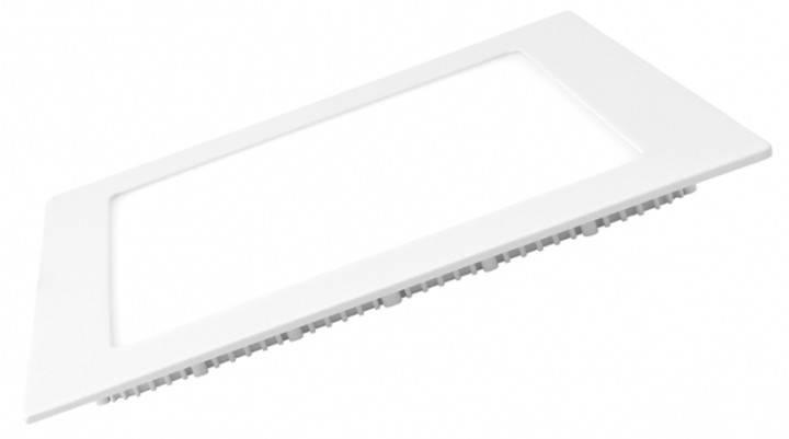 Светодиодная панель Eurolamp LED-PLS-6/3 6W 3000K (квадрат.бел.) Код.57888, фото 2