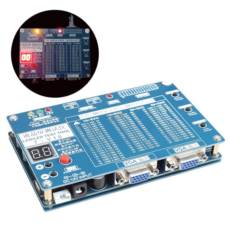 Тестер мониторов LCD ЖК дисплев ТВ,  от 7 до 84