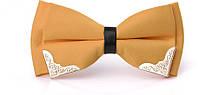 Краватка-метелик жовтий