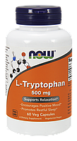 Л-Триптофан / NOW - L-Tryptophan 500mg (60 caps)