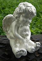 Ангелок с мишкой 1/3 (белый) 8 см
