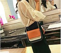 Женская мини сумочка на цепочке, фото 1