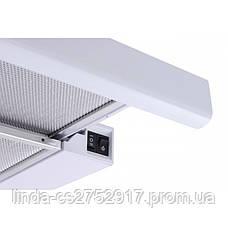 Кухонная вытяжка GARDA 60 WH (450) VentoLux, фото 3