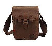 Мужская брезентовая сумка через плечо Augur, фото 1