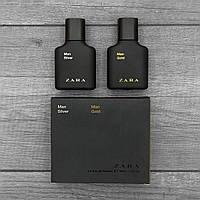 Духи Zara Man gold + Silver мужская Парфюмерия Зара Туалетная вода подарок на день св валентина