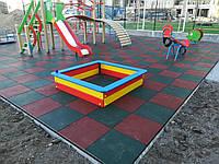 Резиновая плитка для детей
