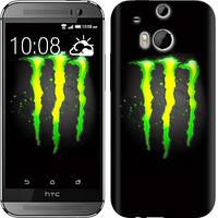 "Чехол на HTC One M8 dual sim Monster energy ""821c-55-328"""