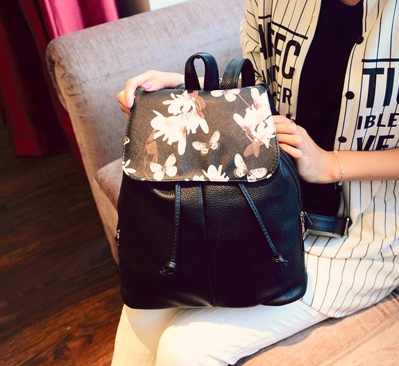 Женский повседневный рюкзак с принтом