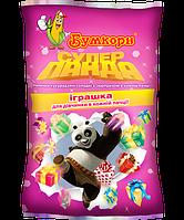 Супер Панда кукурудзяні палички з сюрпризом для дівчинки (уп. 20 шт./40гр.)