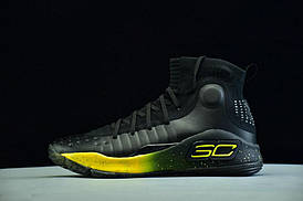 Кроссовки Under Armour Curry 4 Black/Yellow