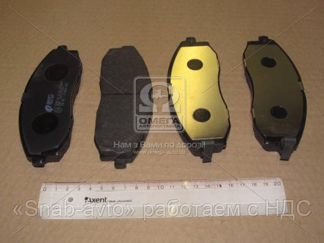Колодка тормозная HYUNDAI H-1 передн. (производство REMSA) (арт. 0703.02), AEHZX