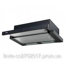 Кухонная вытяжка GARDA 60 BK (450) VentoLux, фото 3