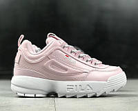 "Кроссовки Fila Disruptor II ""pink"". Живое фото (фила)"