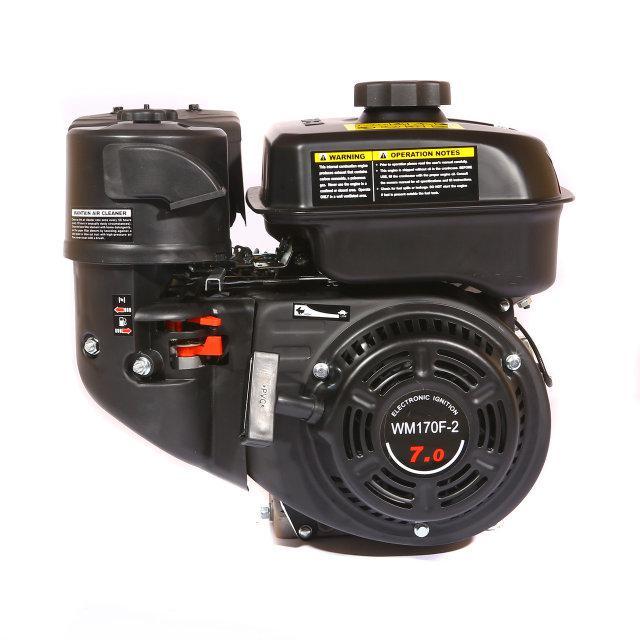 Двигатель бензиновый WEIMA WM170F-1050 (R) NEW(7 л.с., шпонка, редуктор с обратным вращением)