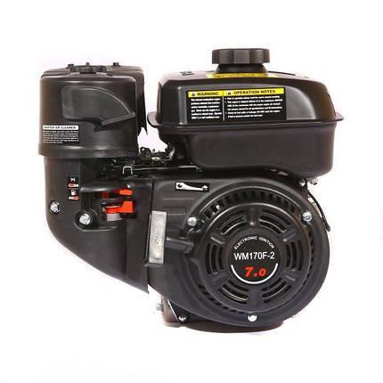 Двигатель бензиновый WEIMA WM170F-1050 (R) NEW(7 л.с., шпонка, редуктор с обратным вращением), фото 2