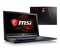 MSI GE73 i7-7700HQ/32GB/1TB+120SSD GTX1050Ti 120Hz