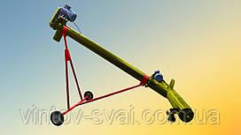 Шнековый погрузчик Ø159*4000*380В с подборщиком 2000 мм.